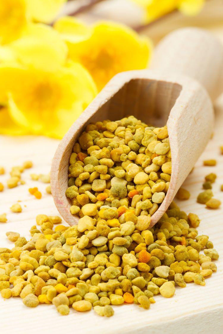 Витамины и минералы в пчелиной пыльце